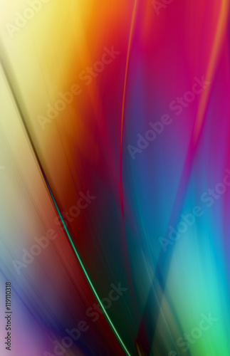 Art rainbow colors abstract  background Wallpaper Mural