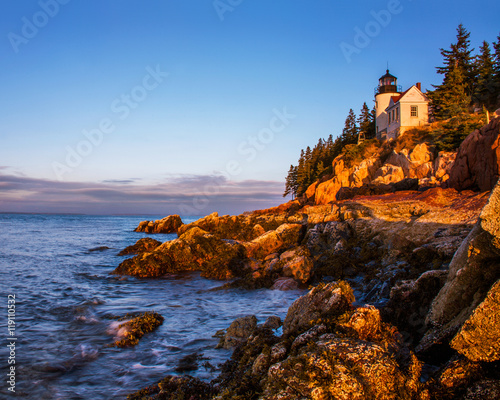 Bass Harbor Head Light Canvas Print