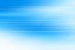 canvas print picture - blue lines background