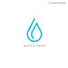 Water Logo. Blue Water Logo. W...