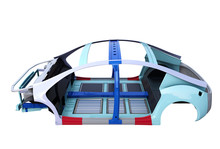Electric Vehicle Body Frame Is...