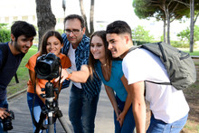 Group Of Young Photography Stu...