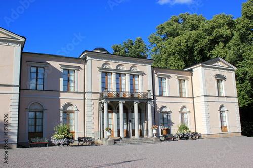 Wall Murals Northern Europe Das berühmte Schloss Rosendal im Stadtteil Djurgarden (Stockholm)