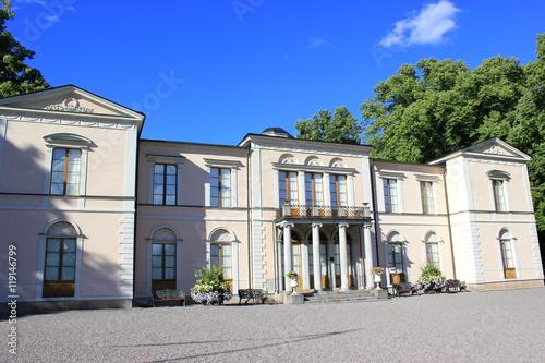 Wall Murals Northern Europe Das berühmte Lustschloss Rosendal in Stockholm (Schweden)