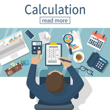 Calculation Concept Vector