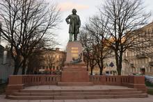The Monument To M. I. Glinka On The Theatre Square