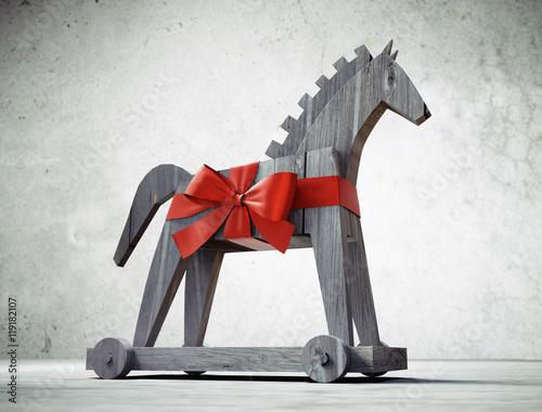 Fotografija  Trojanisches Pferd als Geschenk 2