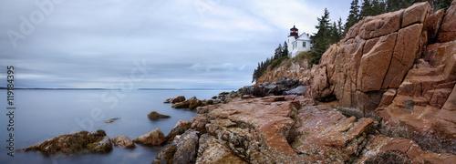 Fotografie, Obraz  Bass Harbor Head Light