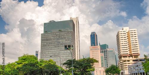 Photo  Buildings of Singapore, Asia