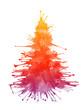 Watercolor Xmas Tree