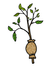 Plant Graft / Cartoon Vector A...