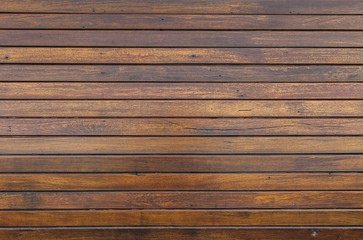 Fototapeta Old wood wall texture background, outdoor day light