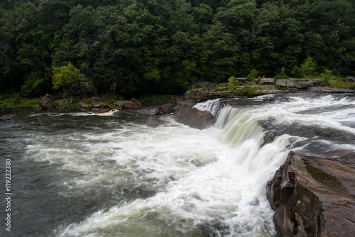 Printed kitchen splashbacks River Ohiopyle Falls on the Youghiogheny River