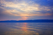 Baikal Lake in sunset light, Siberia, Russian Federation