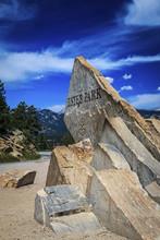 Estes Park, Colorado Sign