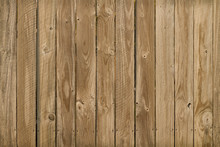 Old Weathered Planks On A Fence
