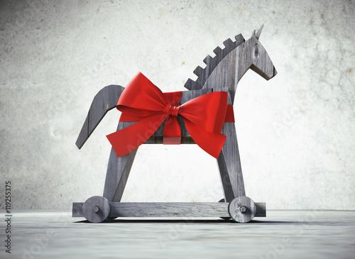 Valokuva  Trojanisches Pferd als Geschenk 1