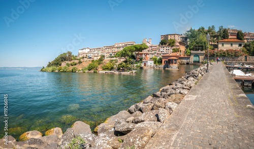 Fotografie, Obraz  Capodimonte sul Lago di Bolsena