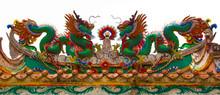 Twin Colorful Dragon
