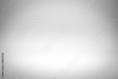 fototapeta na drzwi i meble Gray gradient abstract studio wall for backdrop design for product or text over