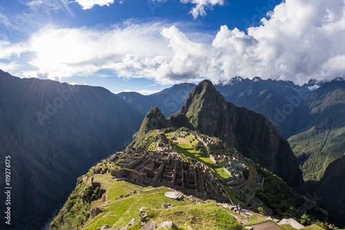 Photo  Machu Pichu in Peru