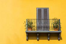 Balconies And The Walls Orange.