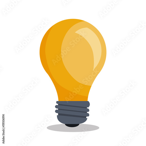 Fotografía  bulb light idea icon