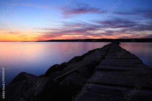 Fotografie, Obraz Gloucester Sunset