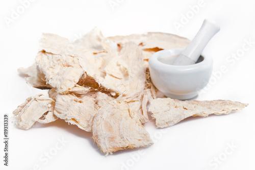 Pueraria mirifica or White Kwao Krua (Pueraria candollei Graham #119313339