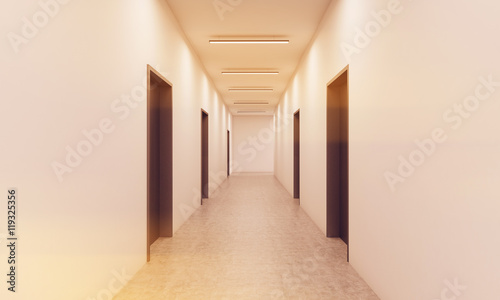 Fotografia Hottel corridor
