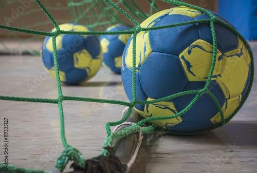 Canvas-taulu handball goal