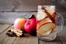Autumn Themed Detox Water With...