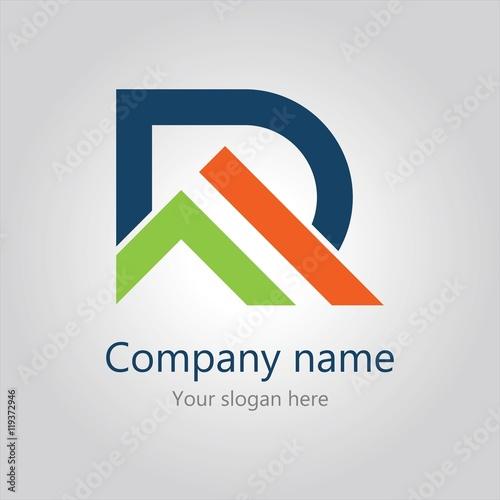 Photo  home letter R logo