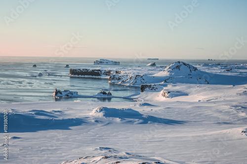Антарктика.