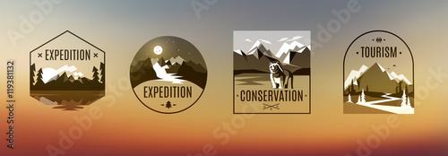 Canvas-taulu Expedition Vintage Label