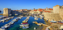 Old Town Port Of Dubrovnik, Cr...