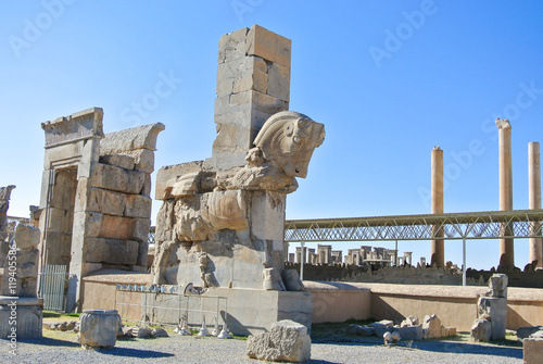 Ancient Column With Horse Head At Persepolis Iran Buy This Stock Photo And Explore Similar Images At Adobe Stock Adobe Stock
