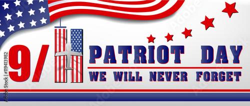 Fotografia  9/11 Patriot Day, September 11 website design