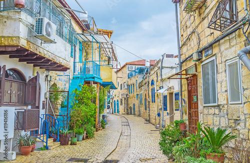Zdjęcie XXL Kręta ulica Safed