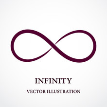 Abstract Infinity Symbol. Vect...