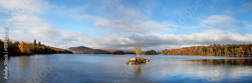 Fotografie, Obraz  Tupper Lake In Autumn