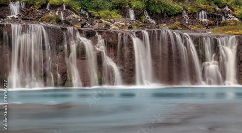 Fototapeten Wasserfalle Icelandic Waterfall