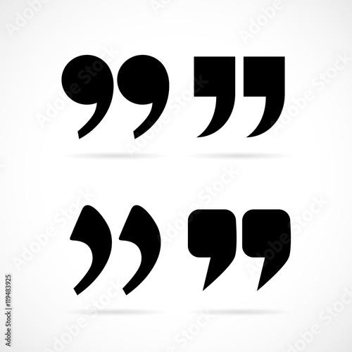 Commas Speech Marks Buy This Stock Vector And Explore Similar