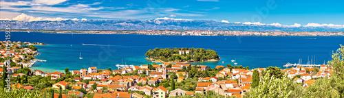 Poster Cote Island of Ugljan waterfront panoramic view