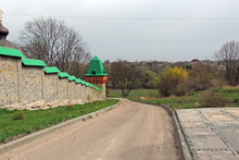 The Walls Of The Monastery
