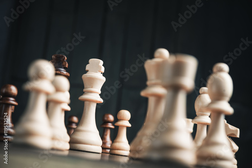 Photographie  chess king
