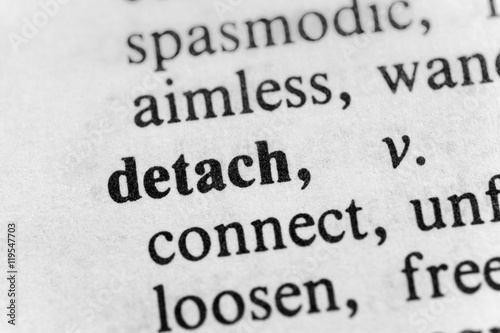 Fotografie, Obraz  Detach