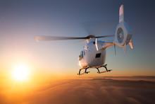 Helicopter Sunset Flight