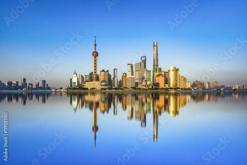 Foto op Aluminium Shanghai Spectacular views of the Bund,shanghai,china.