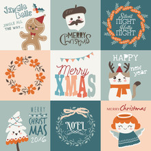Set Of Christmas Cards/ Gift T...